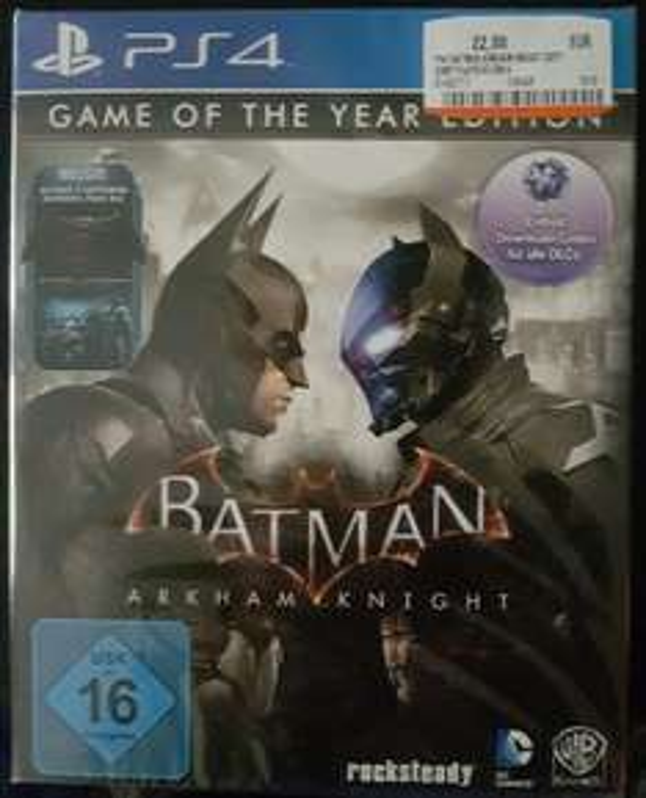 [Lokal] [MediaMarkt] [Berlin-Waltersdorf] Batman: Arkham Knight - Game of the Year Edition (PS4) für 22,00 €