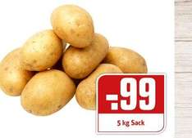 Nur Montag 17.10.16 Rewe Dortmund 5 Kg Sack Karoffeln 0,99 Euro