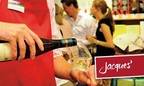 20€ Jaques Wein-Depot Gutschein für 15 Euro über Groupon und 1,50 Shoop Cash Back