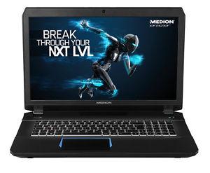 [B-Ware] Medion Erazer X7842 mit  i7-6700HQ, GTX 970M, 128GB SSD, 500GB HDD, 17,3 Zoll Full-HD IPS, Windows 10 für 999,99€