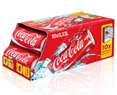 Coca Cola / Zero/light - 10er Friendspack Aldi Süd