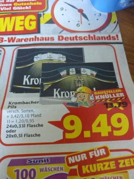 Lokal Marktkauf Osnabrück Nahne - Krombacher Pils