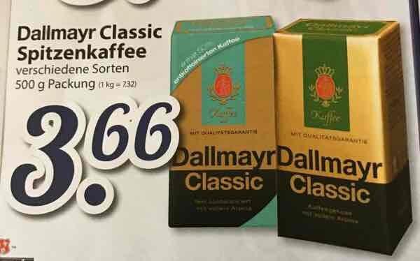 [ Lokal Hamburg Edeka Meyerx27s & Edeka Struve ] Kaffee Dallmayr 3,66,-