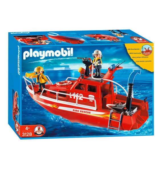 PLAYMOBIL® City Action Feuerlöschboot mit Pumpe 3128 @ Galeria Kaufhof