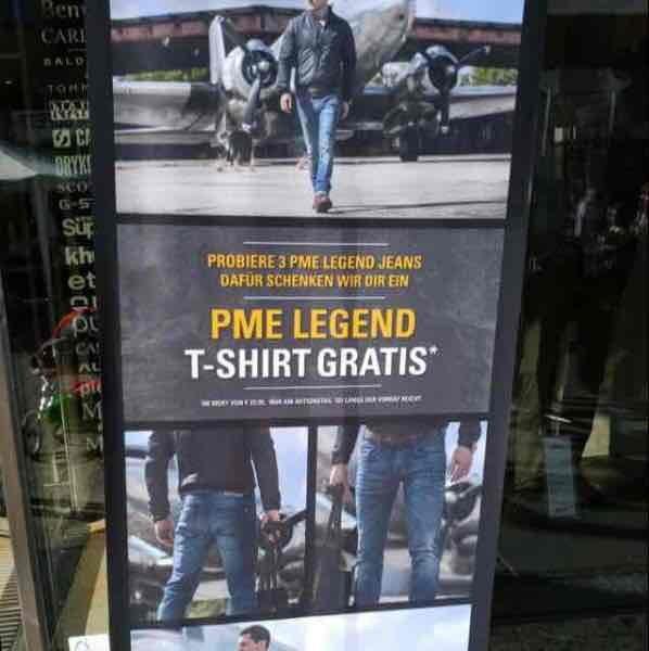 Gratis T-Shirt beim Roettele in Schwäbisch Gmünd