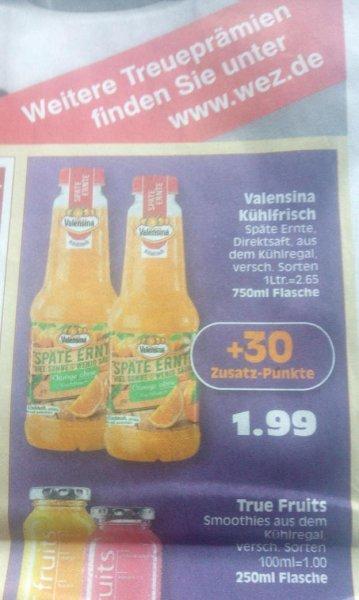 """WEZ. Valensina """"Späte Ernte"""" für effektiv 1,19€. ( DC + SCONDOO)"""