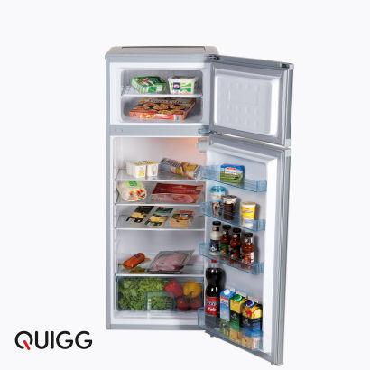 Quigg Kühl Gefrierkombination (172L + 40L) 212 L, A++  ab dem 27.10. für 149.-Euro [Aldi Nord]