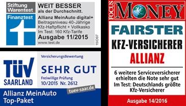Rekordminusdeal bei Allianz:Kfz-Versicherung mit 50€ Amazon Gutschein
