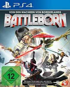 [Amazon.de Prime] Battleborn PS4