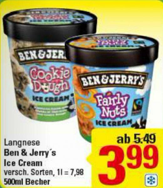 [Lokal Marktkauf Herford] Ben & Jerryx27s Eis 500ml ab 17.10. für 3,99