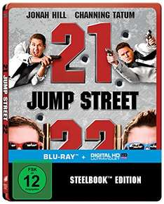 [Amazon.de] 21 + 22 Jump Street Steelbook (Blu-ray) für 11,97 €