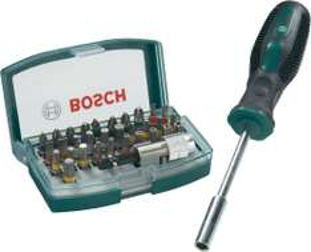 (Conrad via ebay wow) Bit-Set 32teilig Bosch Promoline, inkl. Bithalter-Schraubendreher