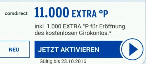 11.000 Payback Punkte mit dem kostenlosen comdirect Girokonto