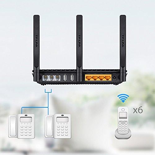 Telefonanlage, WLAN mit AC1600, VoIP Modemrouter ...knapp unter AVM Fritz! Box 7490 von den Specs