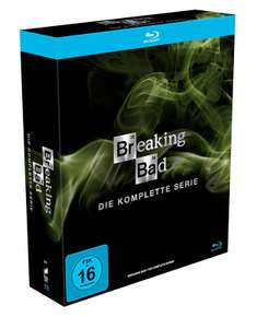 Breaking Bad - Komplettbox (Bluray) für 49€ [Amazon]