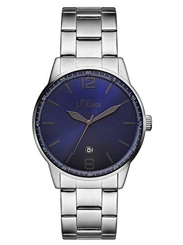 [Amazon] s.Oliver Herren-Armbanduhr Analog Quarz Edelstahl SO-3099-MQ  (> 30% günstiger!)
