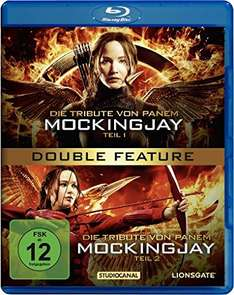[Amazon] Die Tribute von Panem - Mockingjay (Teil 1+2) (BluRay) (knapp 30% unter PVG)