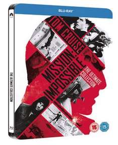 (Zavvi) Mission Impossible 1-5 Limited Steelbook Edition (Blu-ray) für 22,79€