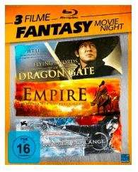 Die Legende der Weißen Schlange + Empire – Krieger der Goldenen Horde + Flying Swords Of Dragon Gate (Blu-ray) für 9,99€ (Saturn)