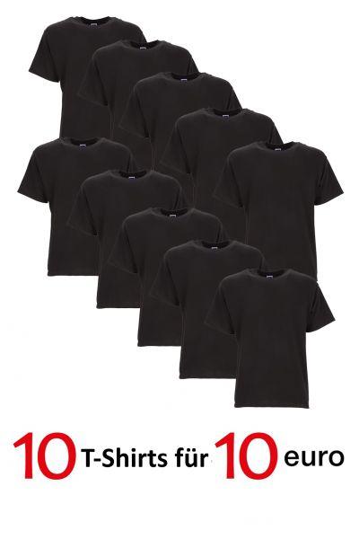 10 T-Shirts für 10 Euro