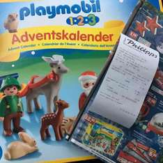 [Lokal] Playmobil 123 Adventskalender bei Thomas Philipps