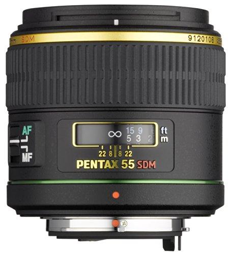 Pentax SMC-DA 55mm / f1,4 SDM Objektiv (Porträt-Tele, wasserdicht) für Pentax