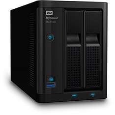 Amazon Prime Exclusiv: Western Digital 12TB My Cloud DL2100 Business Series NAS Festplatte - LAN - WDBBAZ0120JBK-EESN