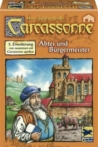"""[Spiele-Offensive] Carcassonne 5. Erweiterung """"Abtei und Bürgermeister"""" Hans im Glück"""