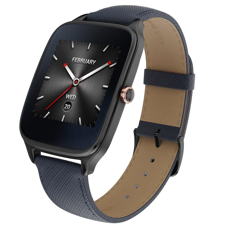 Asus Zenwatch 2 Smartwatch mit Lederarmband (Android & iOS) für 142,99€ [Amazon]