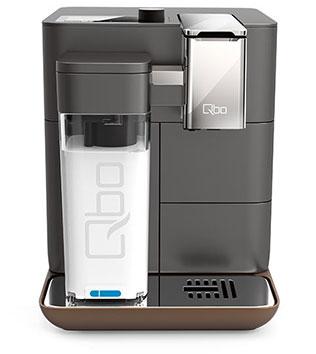 QBO YOU-RISTA für 299€bei Tchibo - Smartes Kaffee-Plastik-Kapselsystem mit Milchaufschäumer