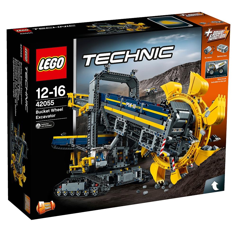 [ToysRUS] LEGO Technic Schaufelradbagger 42055 für 182,89 €!! Günstigster Preis derzeit!