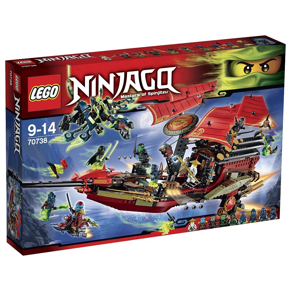 Lego Ninjago 70738 Der letzte Flug des Ninja-Flugseglers für 79,98€ bei [ToysRUs und Amazon] VP: ~ 100€ + weitere Lego Angebote