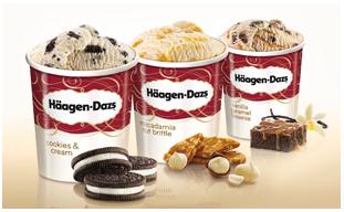 [Allyouneed fresh] 13 x Häagen-Dazs-Eiscreme versch. Sorten für 3,83€ pro 500 ml Becher