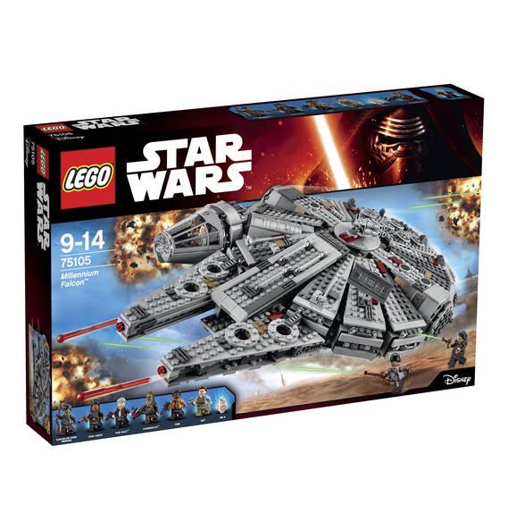 Lego Star Wars Millennium Falcon 75105 für 92,07€ nur am 19.10.2016 (Galeria Kaufhof online)