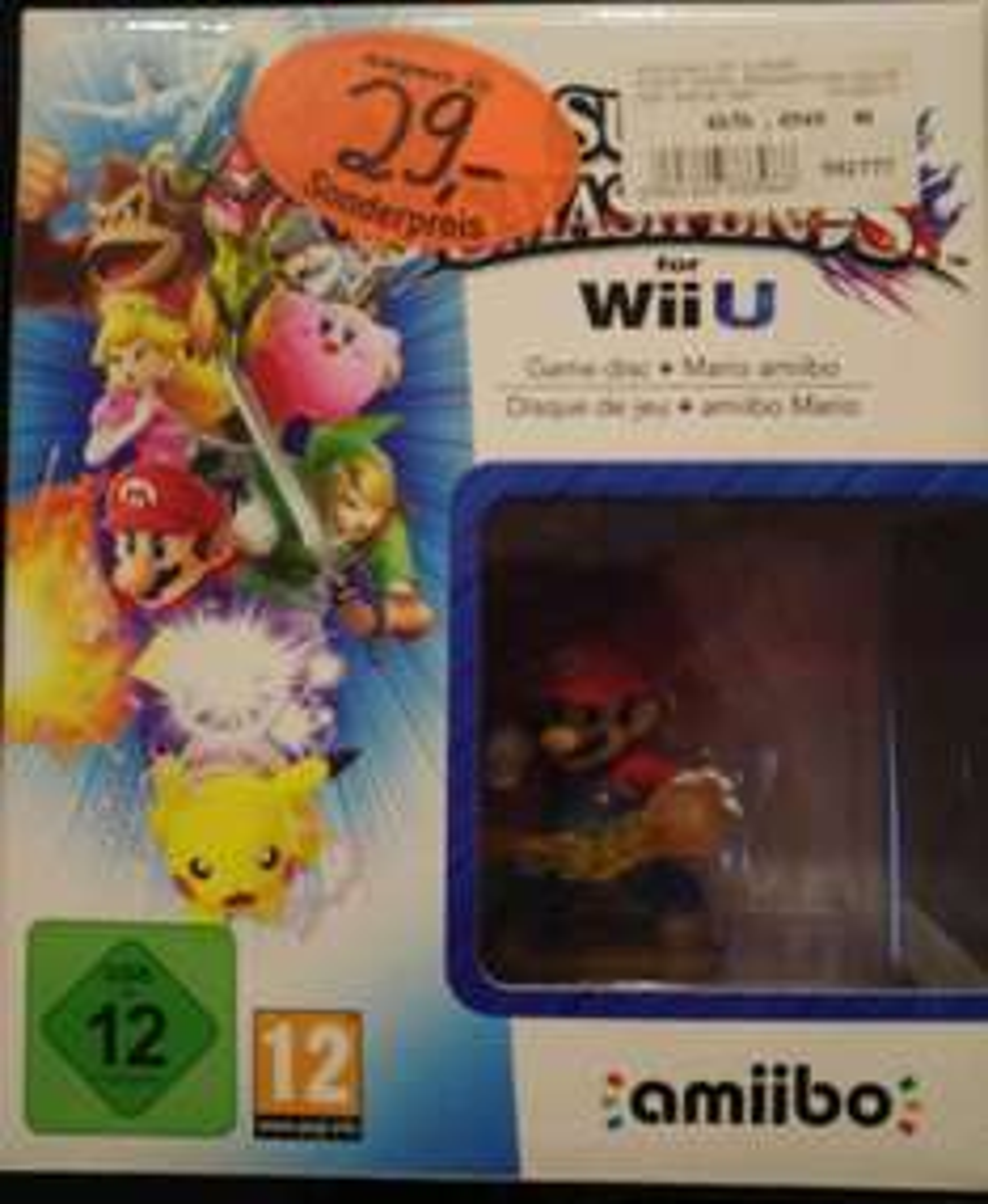 [Lokal Bayreuth] Super Smash Bros inkl. Amiibo (Wii U) für 29€ bei Expert Jakob