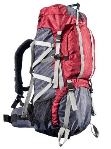 Günstiger 65 Liter Trekking Rucksack mit Top-Bewertungen inkl. Regenhülle