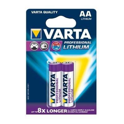 [Exklusiv für Prime-Mitglieder] Varta Professional Lithium AA Batterie (1,5V, 2900mAh, 10x 2-er Blister)
