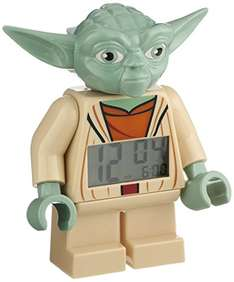 Lego Wecker Star Wars Minifigur Yoda (Clone Wars) für 16,25 bei [Amazon.co.uk]