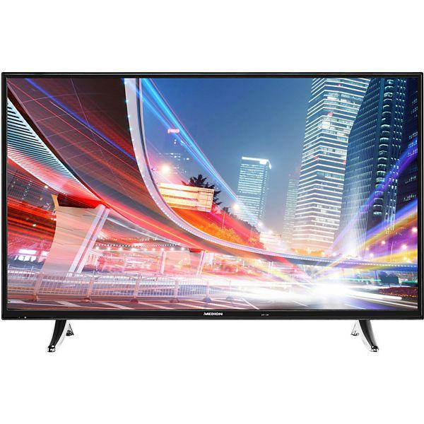 [Plus.de] 55 Zoll Smart-TV MEDION® LIFE® X18062 Full-HD, Triple Tuner mit DVB-T2 HD, EEK: A++