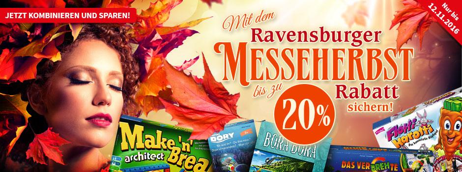 [Spiele-Offensive] Ravensburger Messeherbst 20% bei Abnahme von 4 Spielen