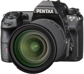 Amazon: Pentax K-3II Gehäuse (24 Megapixel, 8 cm (3,2 Zoll) Display, Live-view, Full HD, GPS unit, Pixelshift) inkl. 16-85mm WR schwarz
