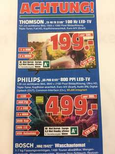 UHD TV Philips 55PUS6101super Angebot!!! In Gelsenkirchen Radiomarkt