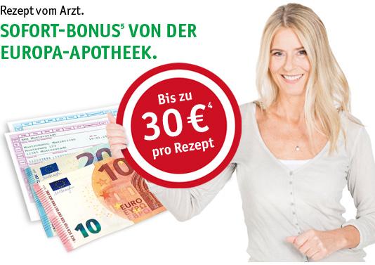 Wieder möglich! Bis zu 30€ Rabatt auf die gesetzliche Zuzahlung bei rezeptpflichtigen Arzneien