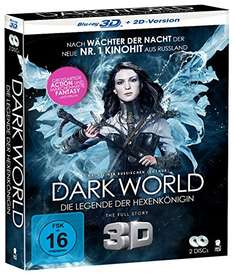 Dark World - Die Legende der Hexenkönigin [3D Blu-ray + 2D Version] für 5,97€