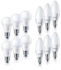 6er Pack Philips LED-Lampe 5,5W/6W (40Watt) E27/E14 2700K für 17,95€ inkl. Versand.