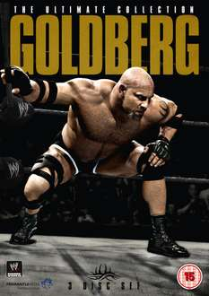 Goldberg - The Ultimate Collection DVD *passend zum WWE Return*