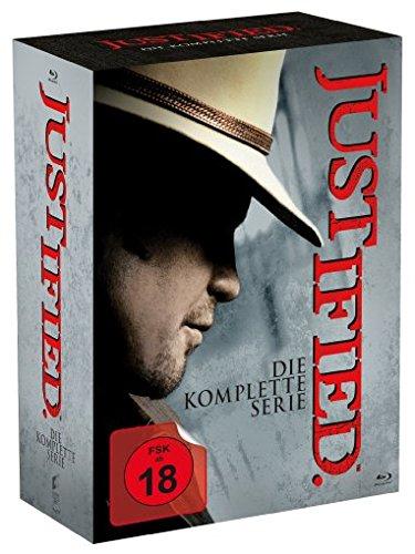 [Amazon] Justified - Die komplette Serie (18 Discs) [Blu-ray] (rund 27% unter PVG)