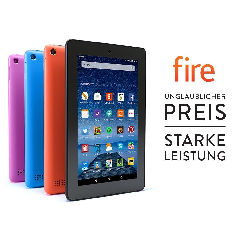 [Amazon.de] Fire Tablet mit Spezialangeboten mal wieder im Angebot - 8 GB / 16 GB billiger