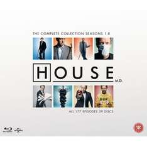 Dr. House - Die komplette Kollektion Blu-ray mit dt. Tonspur (Zavvi)