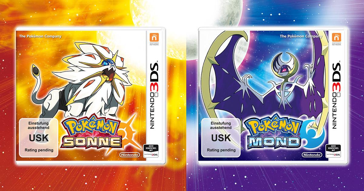 Pokemon Sonne und Pokemon Mond (Nintendo 3DS) für je 34,94€ vorbestellen (Release: 23.11.) [Voelkner]